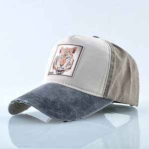 TIGER Baseball Caps Men Unisex Trucker Hats Very Cool Animal Patches More Styles