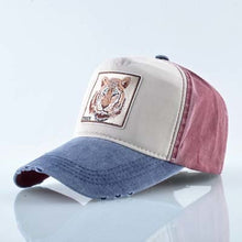 Load image into Gallery viewer, TIGER Baseball Caps Men Unisex Trucker Hats Very Cool Animal Patches More Styles