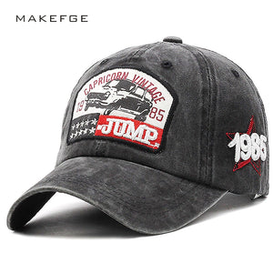 Retro Vintage Baseball Caps Men Unisex Cool Distressed Trucker Hats Many Styles