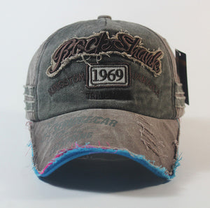NEW 1969 Snapback Men Baseball Cap Men Unisex Fitted Washed Old Retro Trucker Hats Many Colors