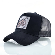 Load image into Gallery viewer, DONKEY Baseball Caps Men Unisex Cool Trucker Hats Ass Animal Patch Novelty Gift Many Styles