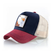 Load image into Gallery viewer, EAGLE Baseball Caps Men Unisex Cool Trucker Hats Animal Patch