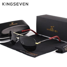Load image into Gallery viewer, KINGSEVEN Men Vintage Aluminum Polarized Sunglasses Classic Brand Sun glasses Coating Lens Driving Shades For Men/Wome