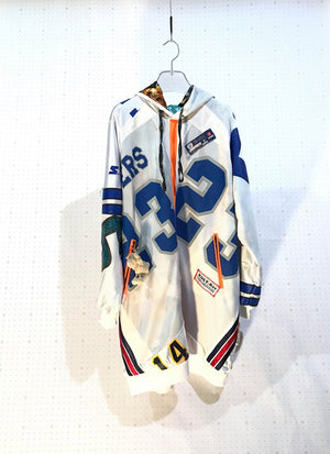 #32 - UNIQUE - Women 100% Recycled Oversized NFL Dress