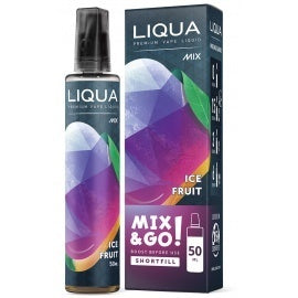 Liqua Mix & Go! Ice Fruit 50ml Nicotine Free