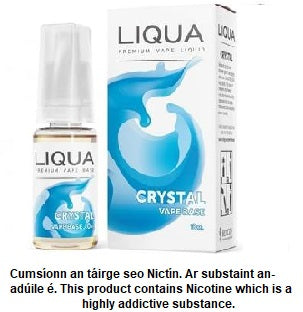 Liqua - Crystal 10ml 18mg (Nic Shot)