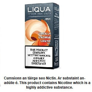 Liqua Mix - Vanilla Orange Cream 10ml