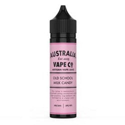 Australia Vape Co. - Old School Milk Candy 60ml Nicotine Free