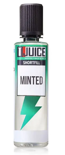 T-Juice Minted Shortfill - 50ml Nicotine Free
