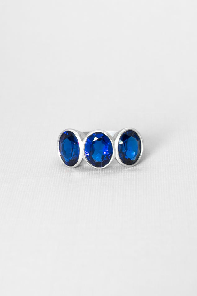 The Trio Sapphire Ring