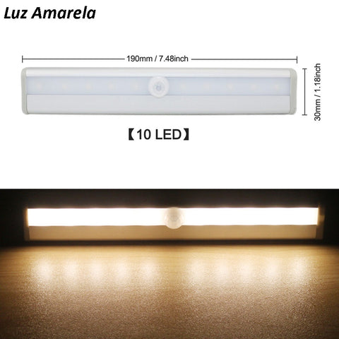 Image of Luminária LED com Sensor de Movimentos
