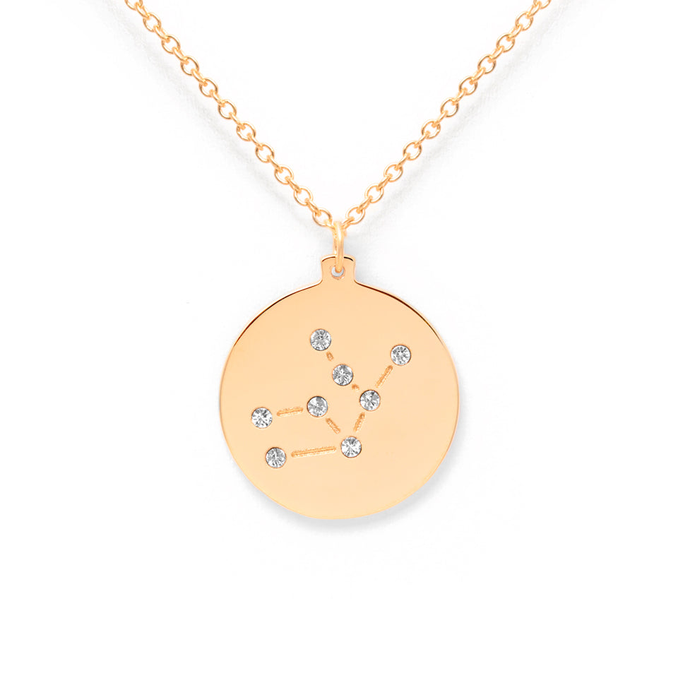 Constellation VIRGO Necklace Glossy