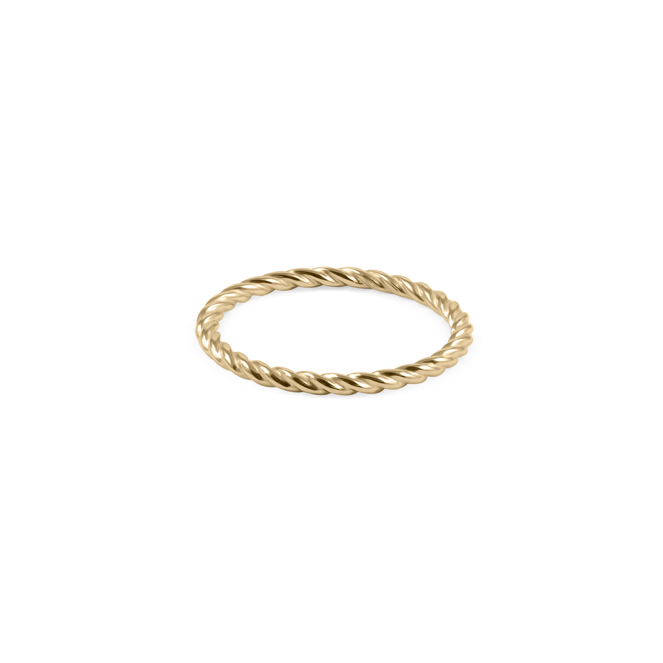 Dune Ring - Solid Gold