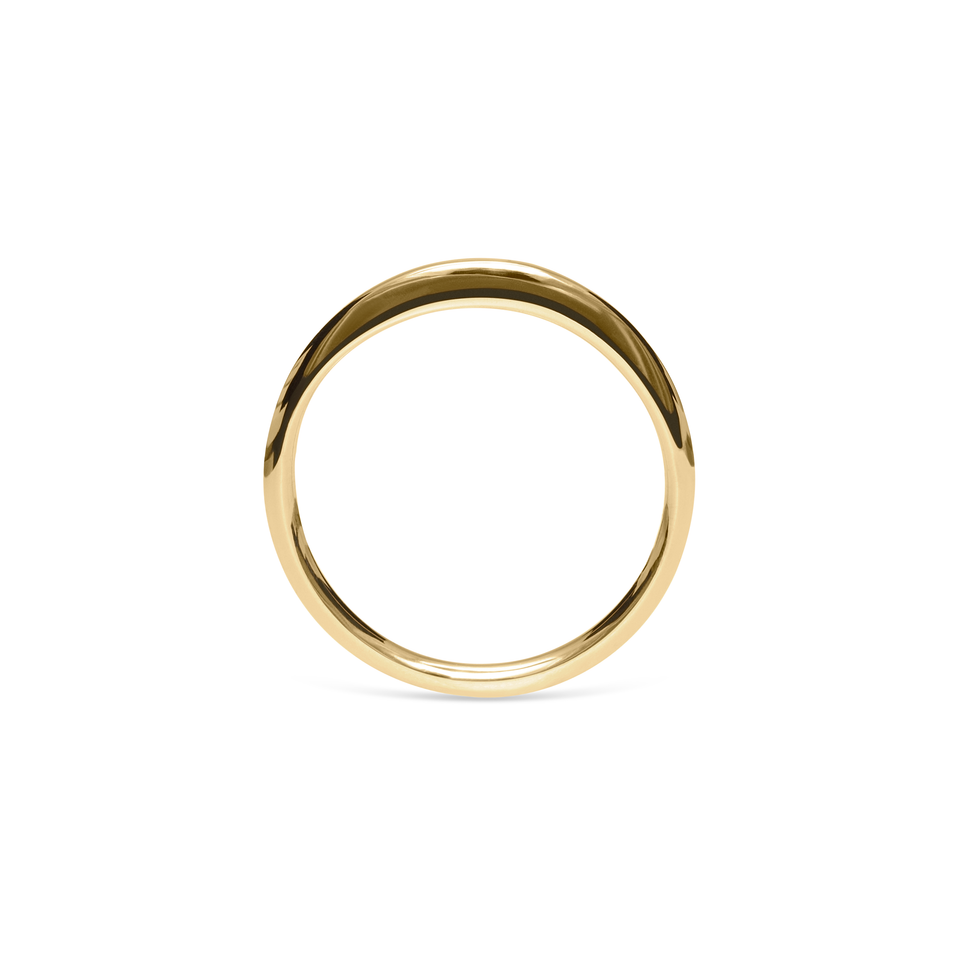 Twist Ring Solid Gold 14 ct