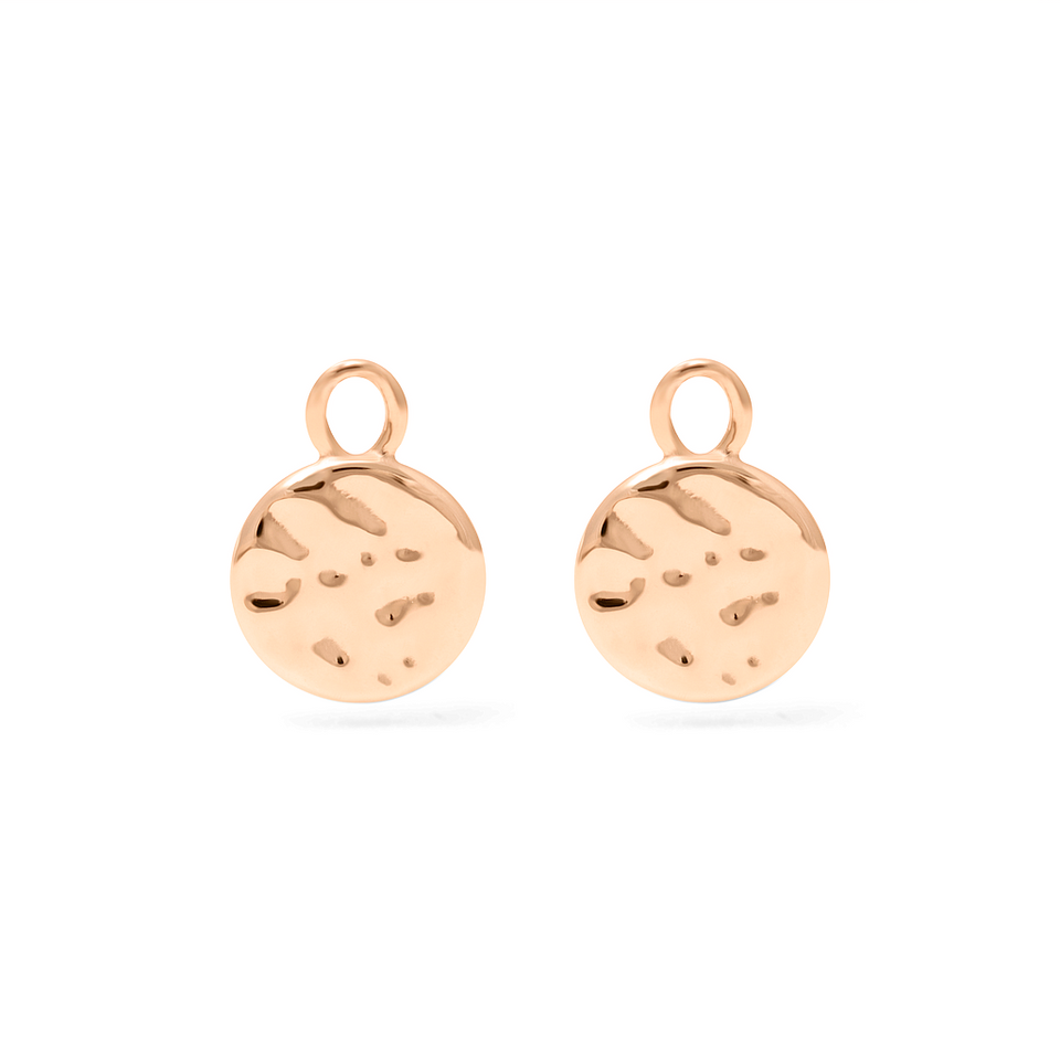 Meadow Pendant Set (Pair) - Solid Gold