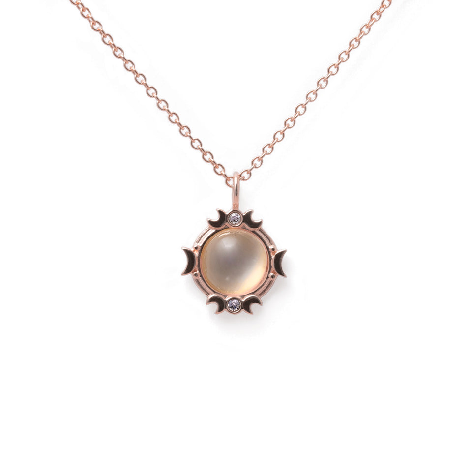 Magic Spell Necklace No.2 Moonstone