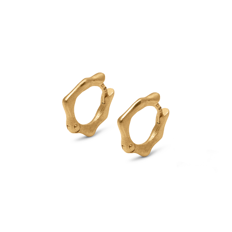 Fluid Small Hoop Earrings