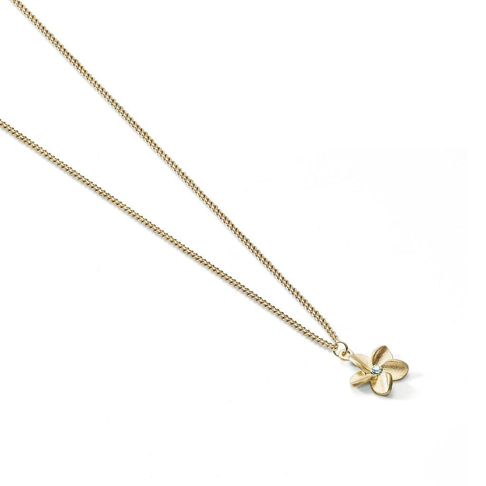 Travel Trinket Frangipani Necklace