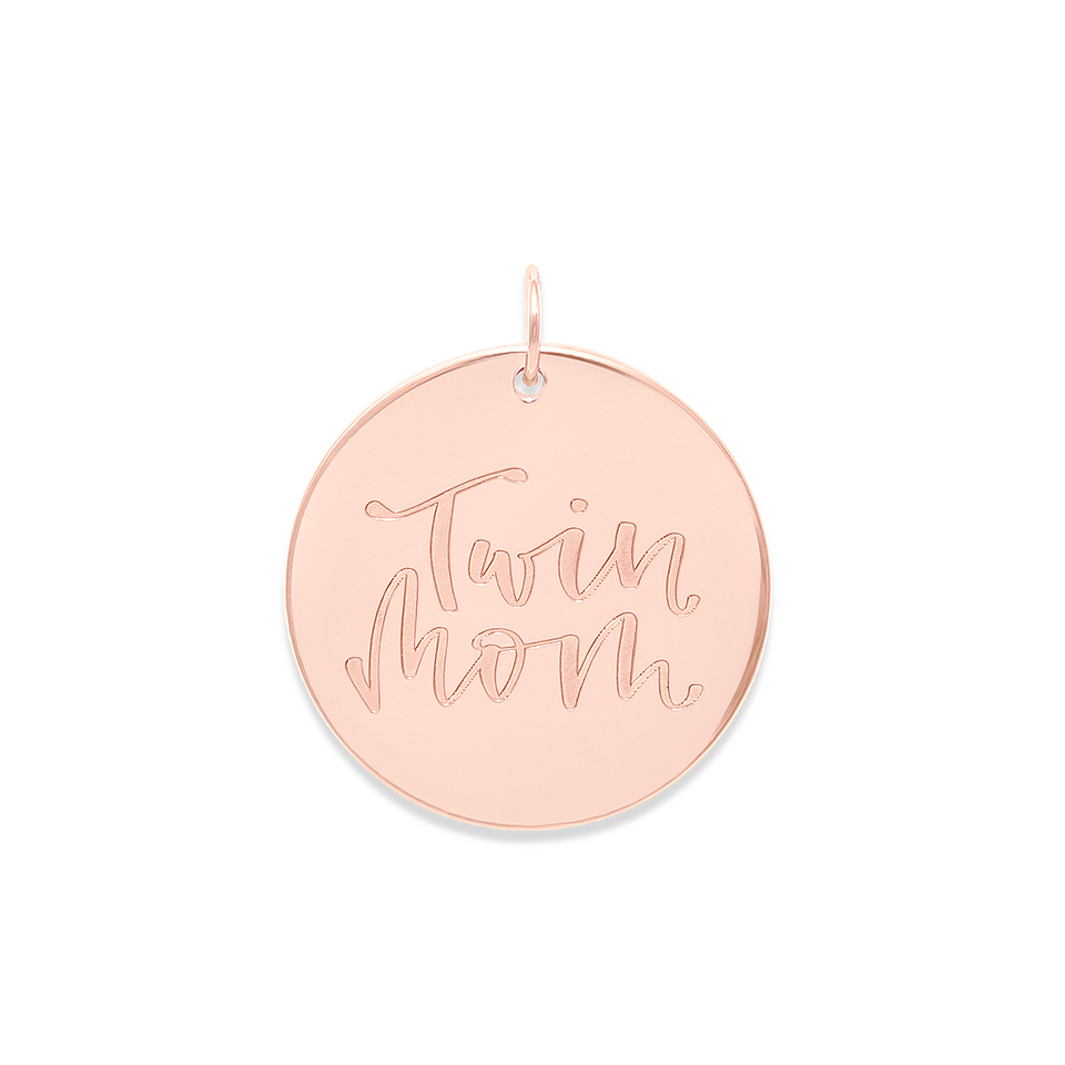 Twin Mom Pendant #mommycollection