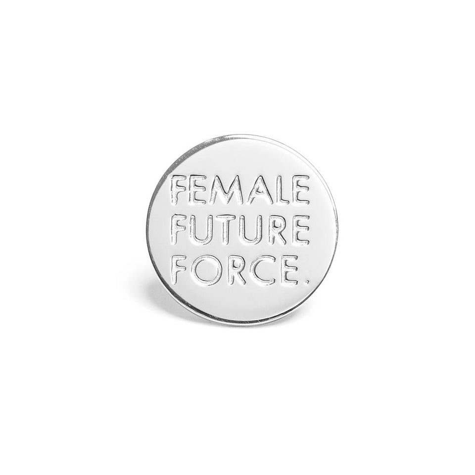 Female Future Force Pin #fff