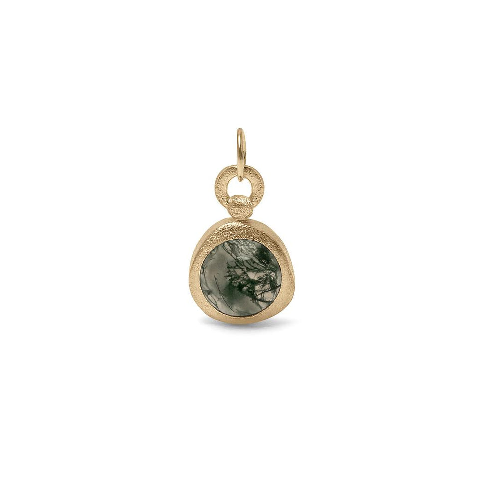 Zodiac Birthstone Pendant (Virgo) Solid Gold 14 ct