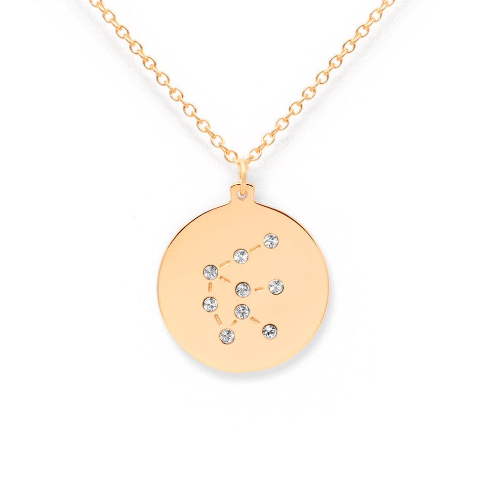 Constellation AQUARIUS Necklace Glossy