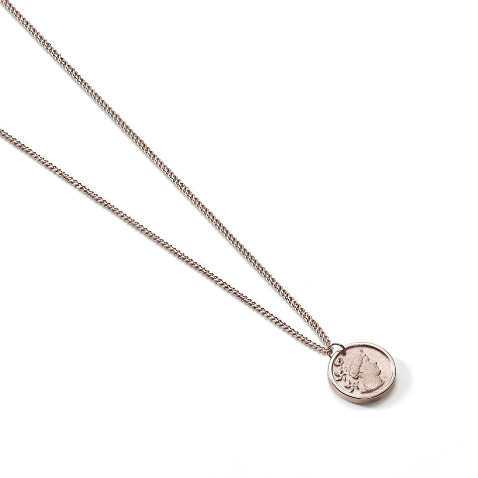 Travel Trinket Coin Necklace