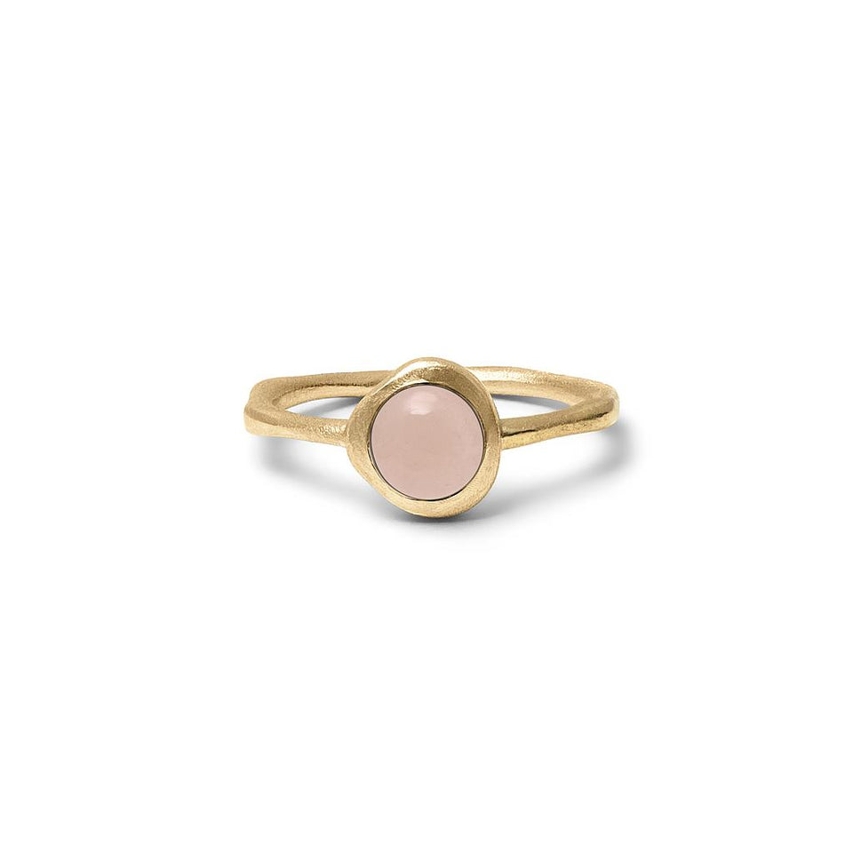 Zodiac Birthstone Ring (Libra) Solid Gold 14 ct