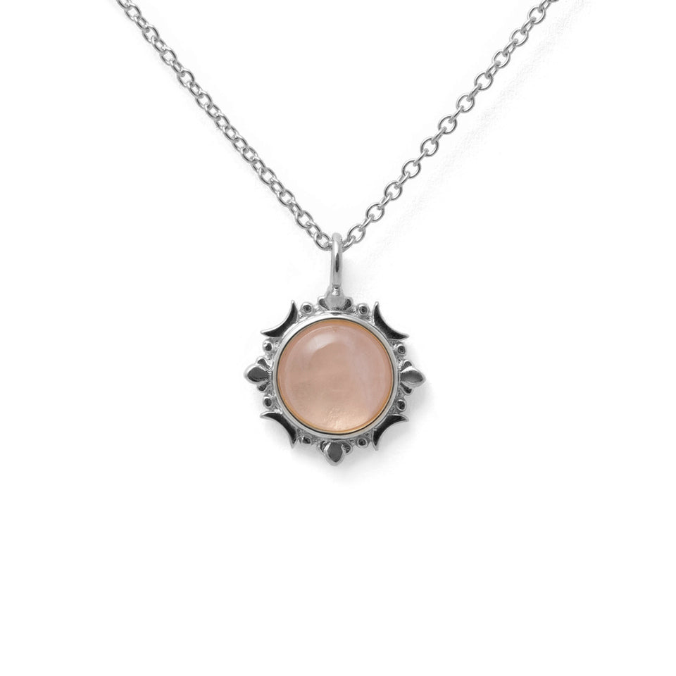 Magic Spell Necklace No.1 Rose Quartz