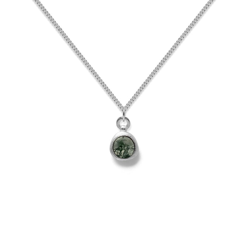Zodiac Birthstone Necklace (Virgo)