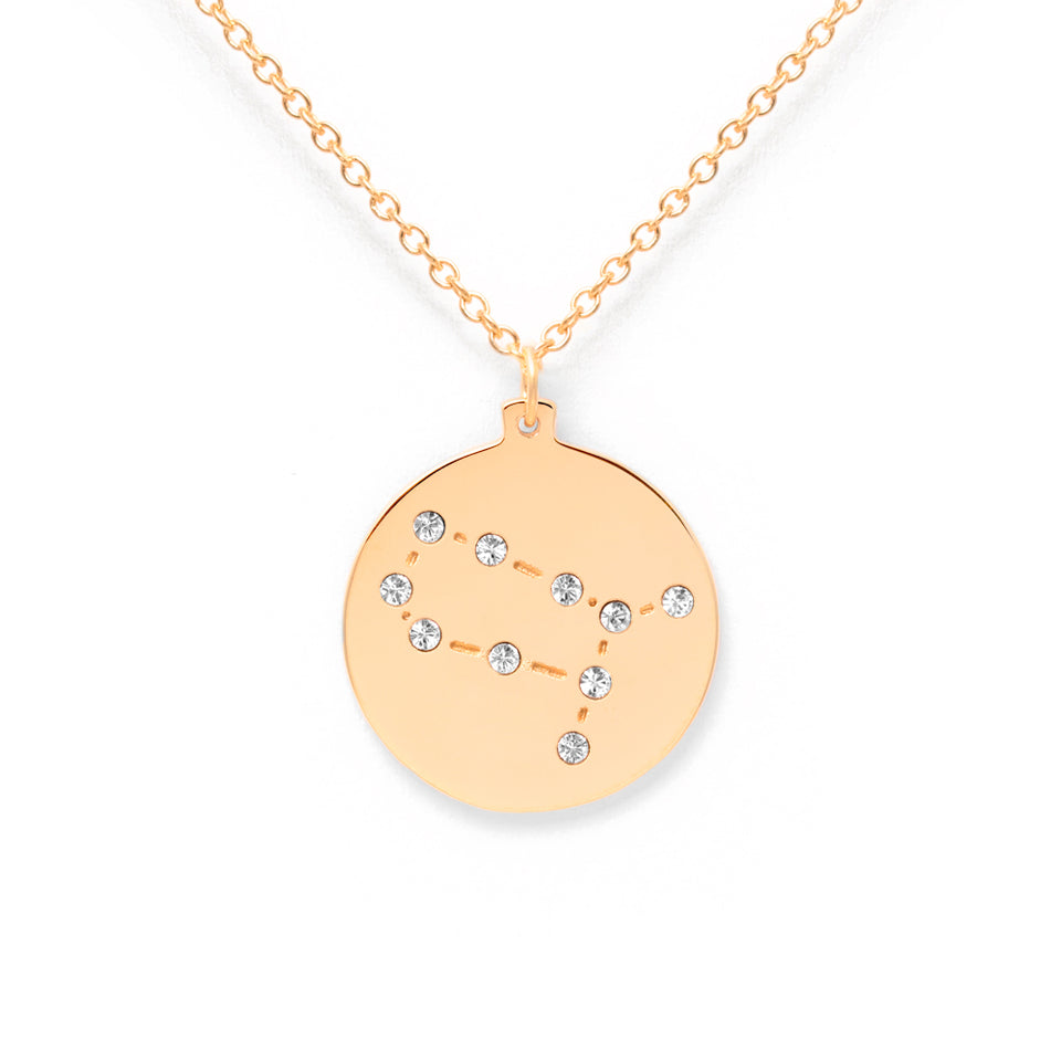 Constellation GEMINI Necklace Glossy