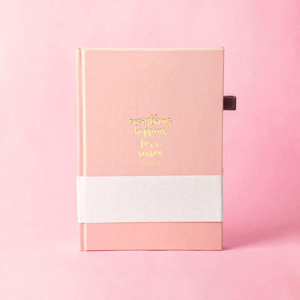 EHFAR Everything happens for a reason Planner 2019-Pink