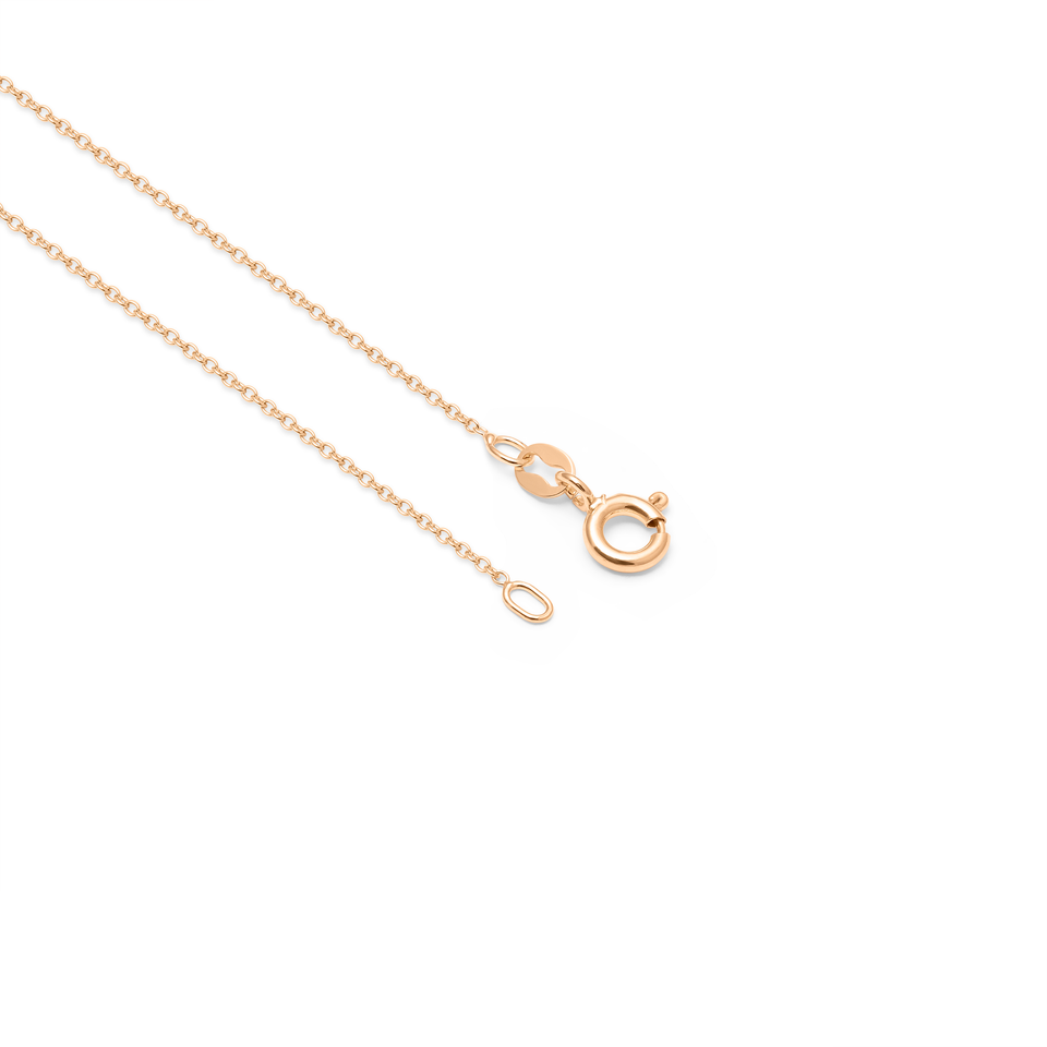 Use Less Solid Gold Anchor Chain