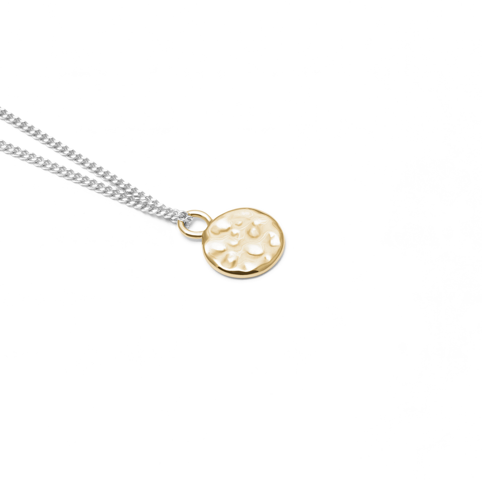 Engravable Meadow Gold + Silver Curb Chain