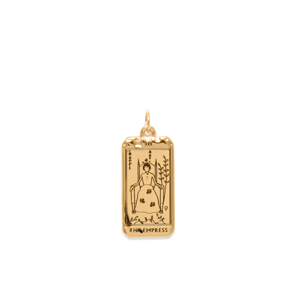 The Empress Tarot Card Pendant