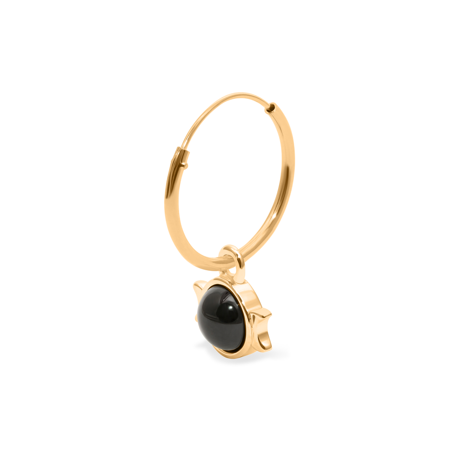 Magic Spell Ear Hoop No.1 Onyx