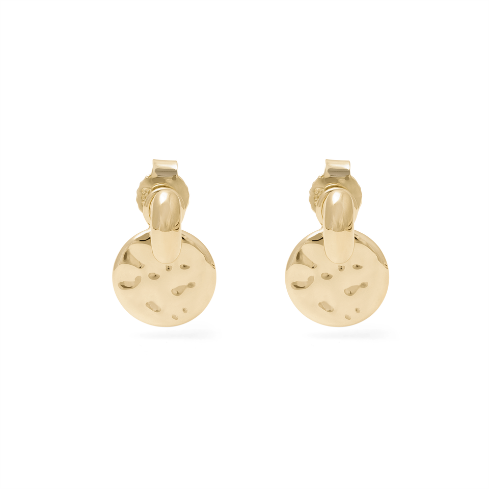 Meadow Pendant Set + Tide Studs - Solid Gold