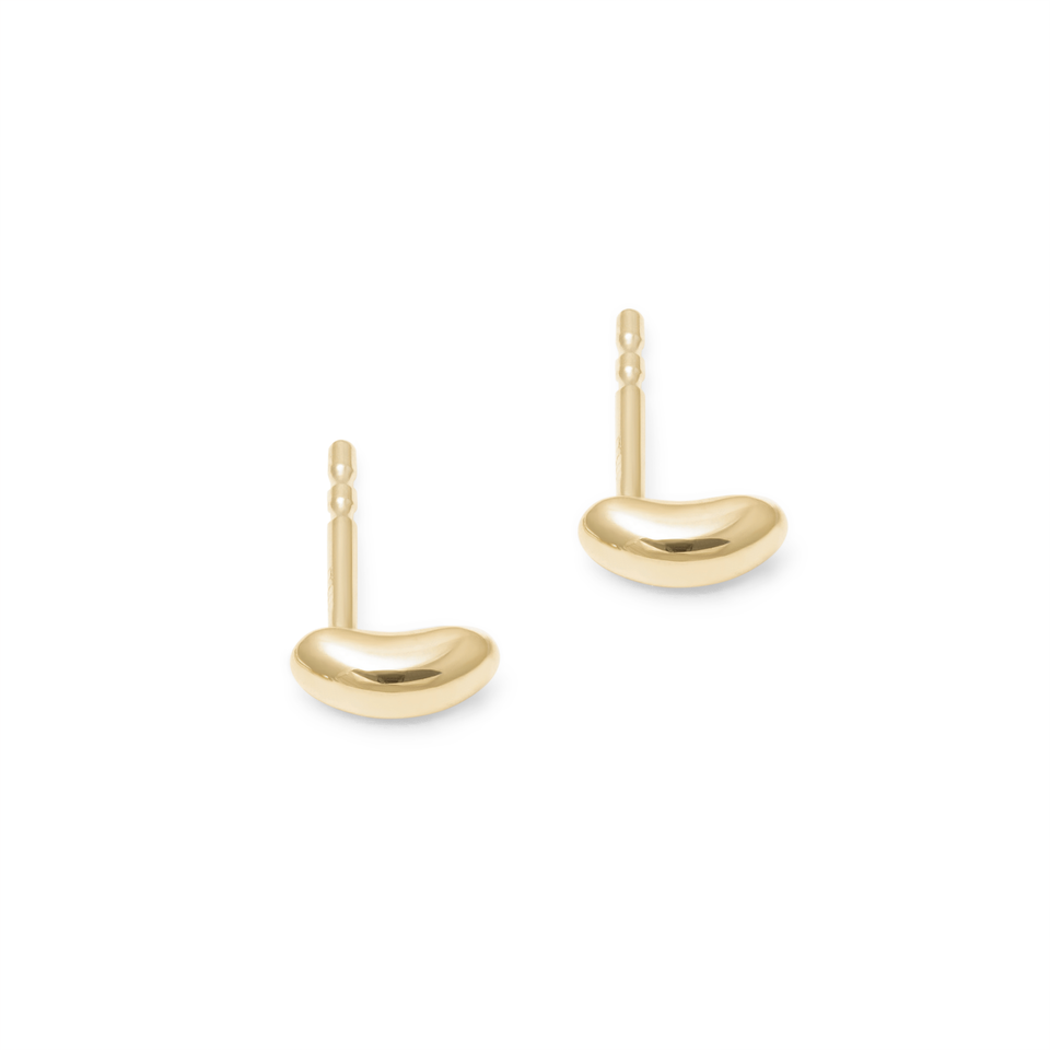 Tide Studs - Solid Gold