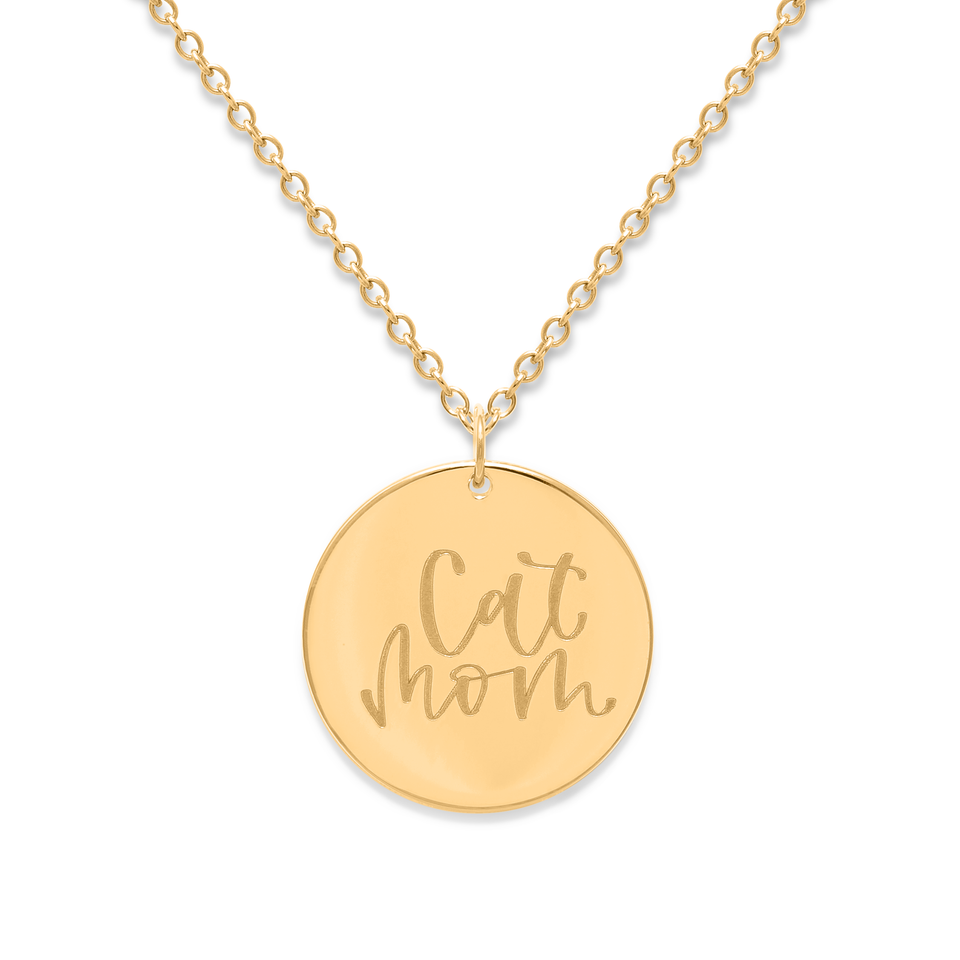 Cat Mom Necklace #mommycollection