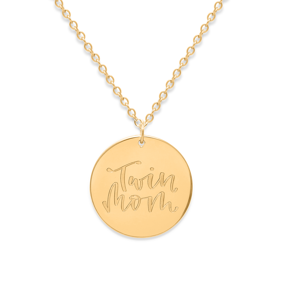 Twin Mom Necklace #mommycollection