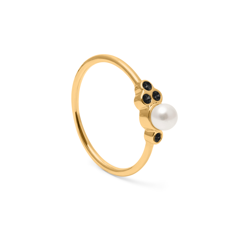 Mother of pearl Ring Jet