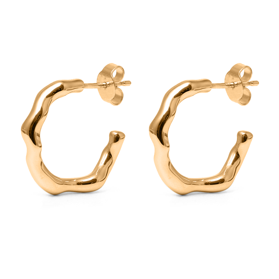 L'Or Liquide Ear Hoops