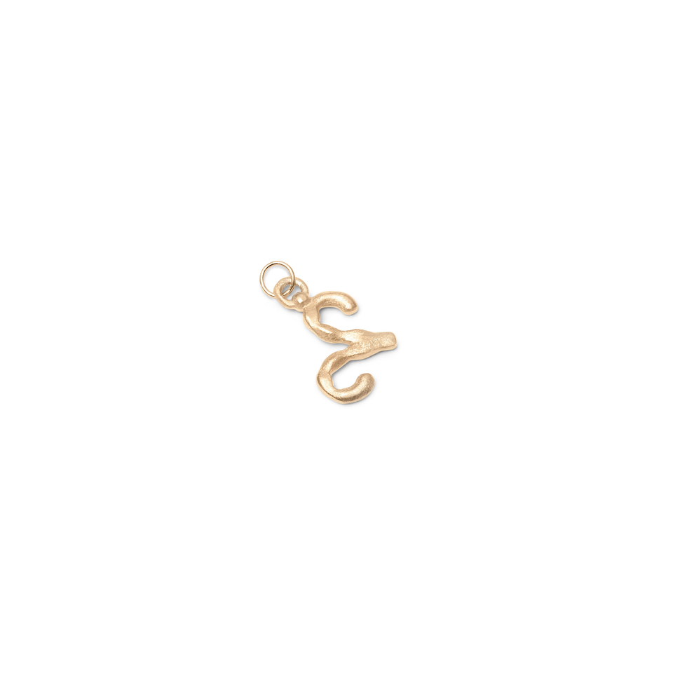 Zodiac Charm Pendant (Aries) Solid Gold 14 ct