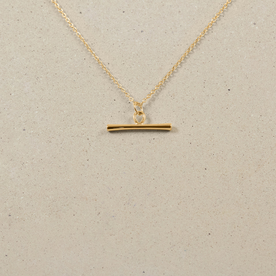 Bonds Path Bar Necklace