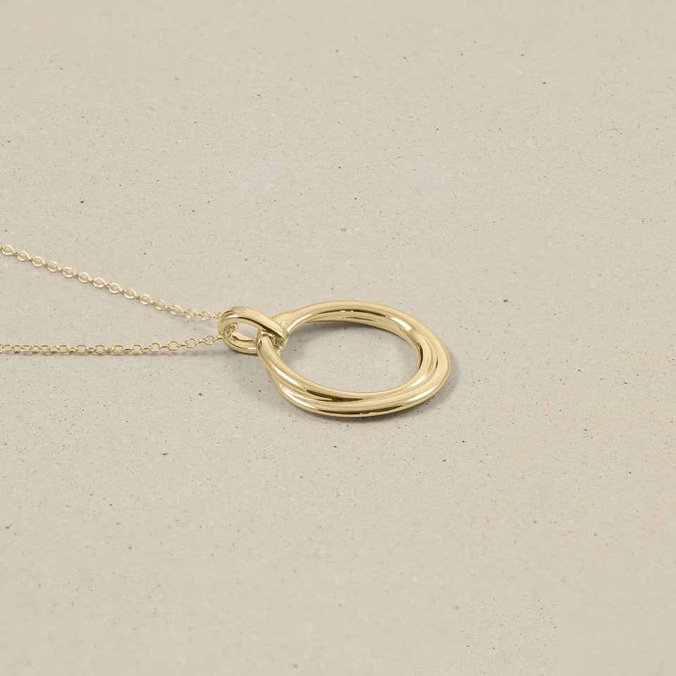 Bonds Rope Necklace - Solid Gold