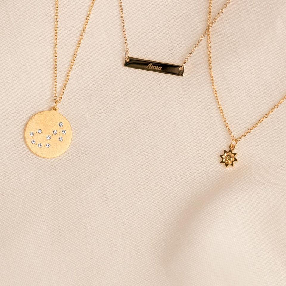 Constellation VIRGO Necklace