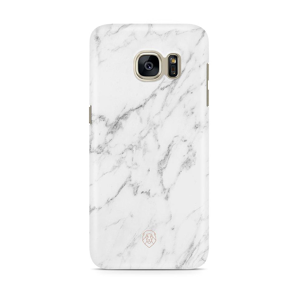 EHFAR White Marble Phone Case