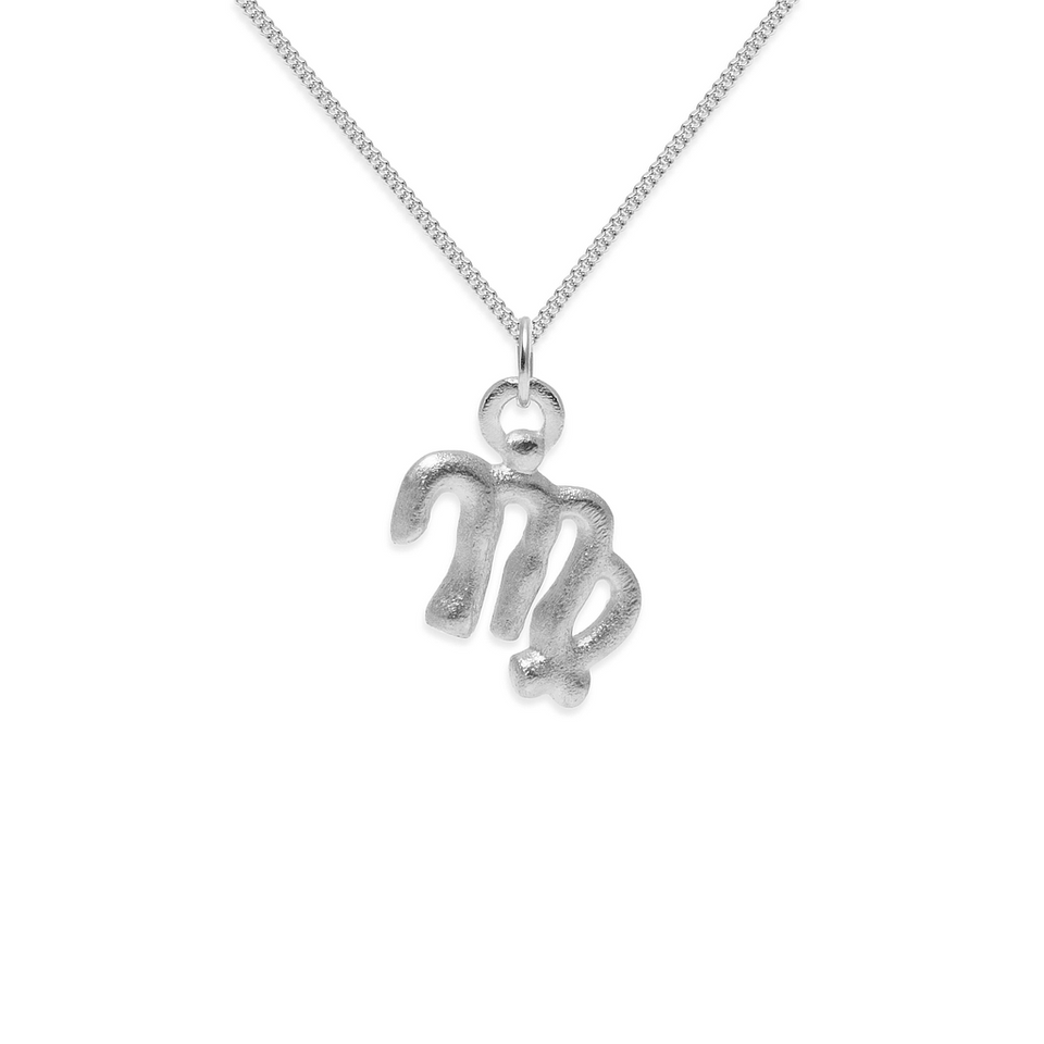 Zodiac Charm Necklace (Virgo)