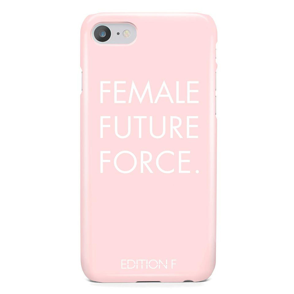 Female Future Force Pink Phonecase #fff