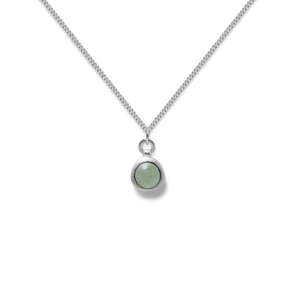 Zodiac Birthstone Necklace (Taurus)